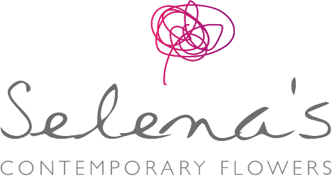 Selena's Contemporary Flowers Logo