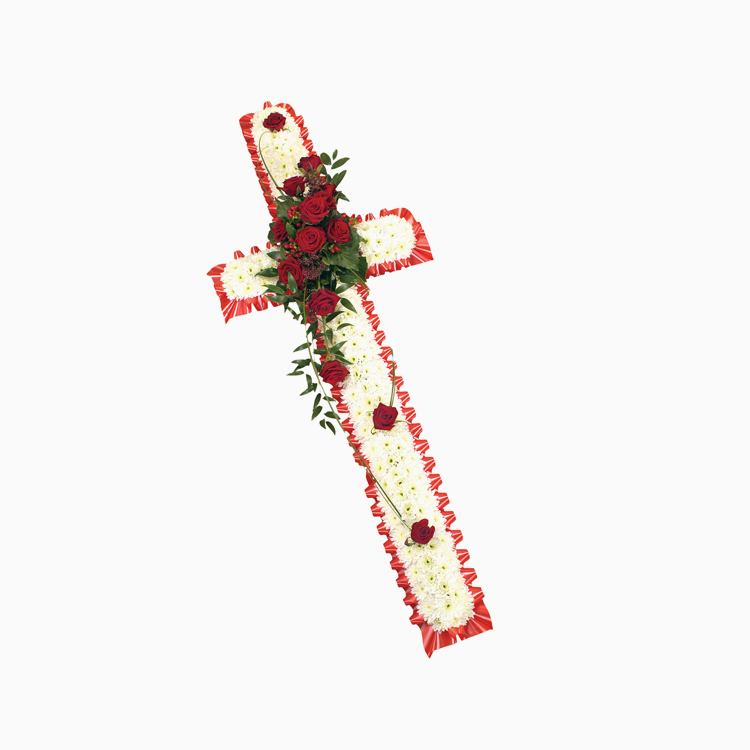 Traditional Based Cross For Religious Tributes
