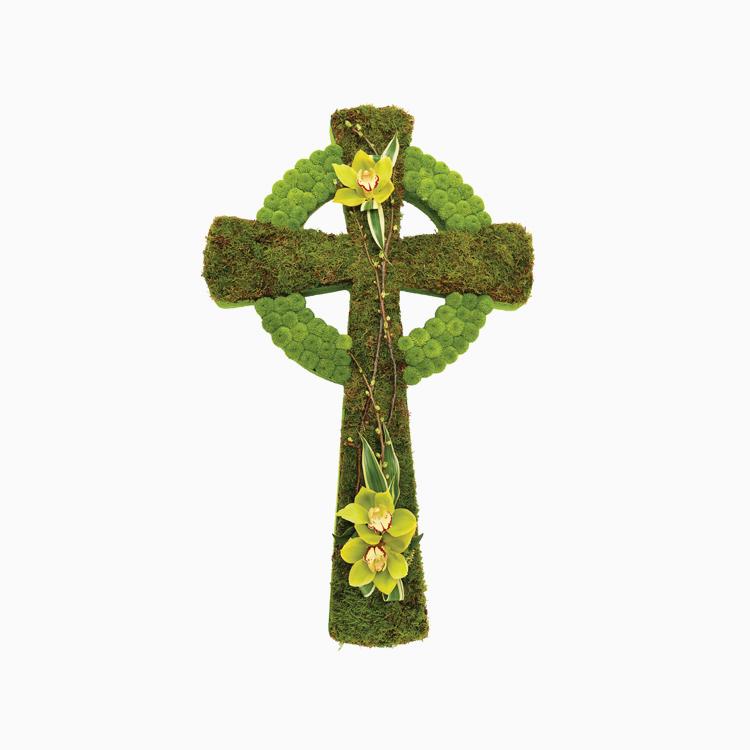 Celtic Cross For Religious Tributes