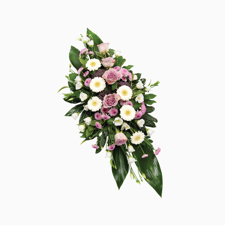 Double Ended Lilac Spray for Funerals