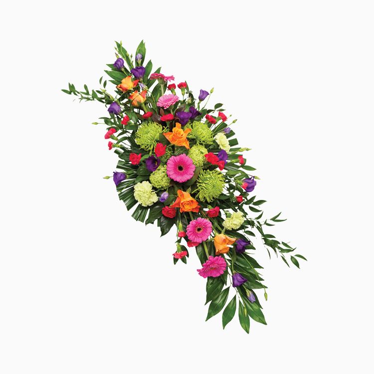 Double Ended Vibrant Spray for Funerals