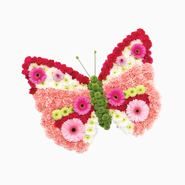 Baby and Child's Butterfly for a Funeral