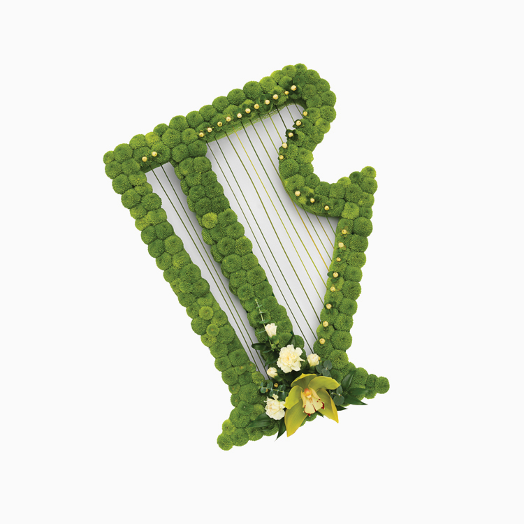 Harp For Personal Tributes