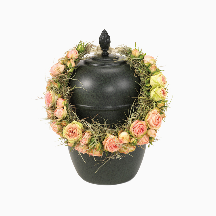 Rose Wreath For Urns