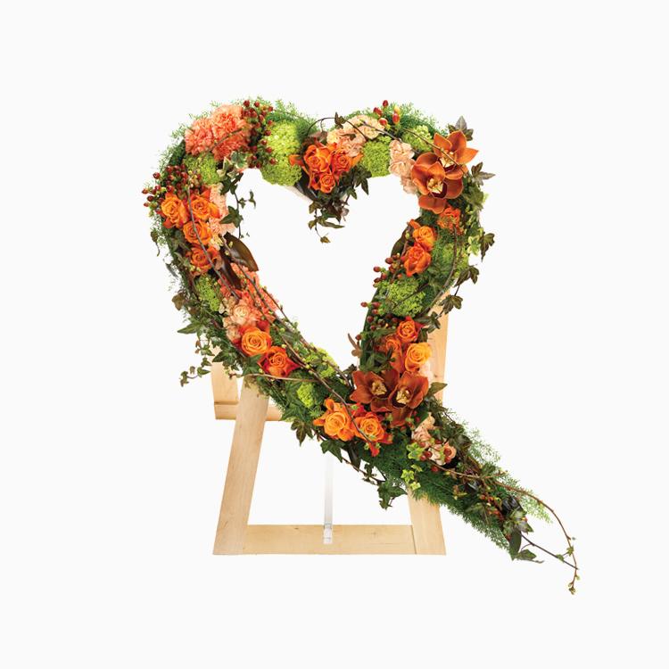 Swinging Heart for Funerals