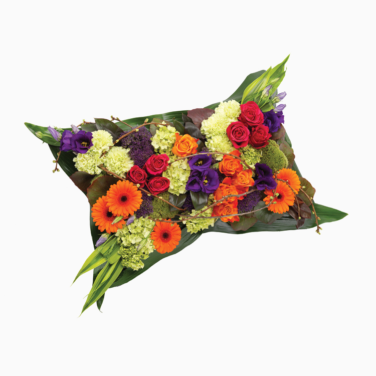 Vibrant Pillow for Funerals