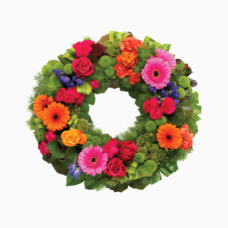 Vibrant Wreath For Wreaths