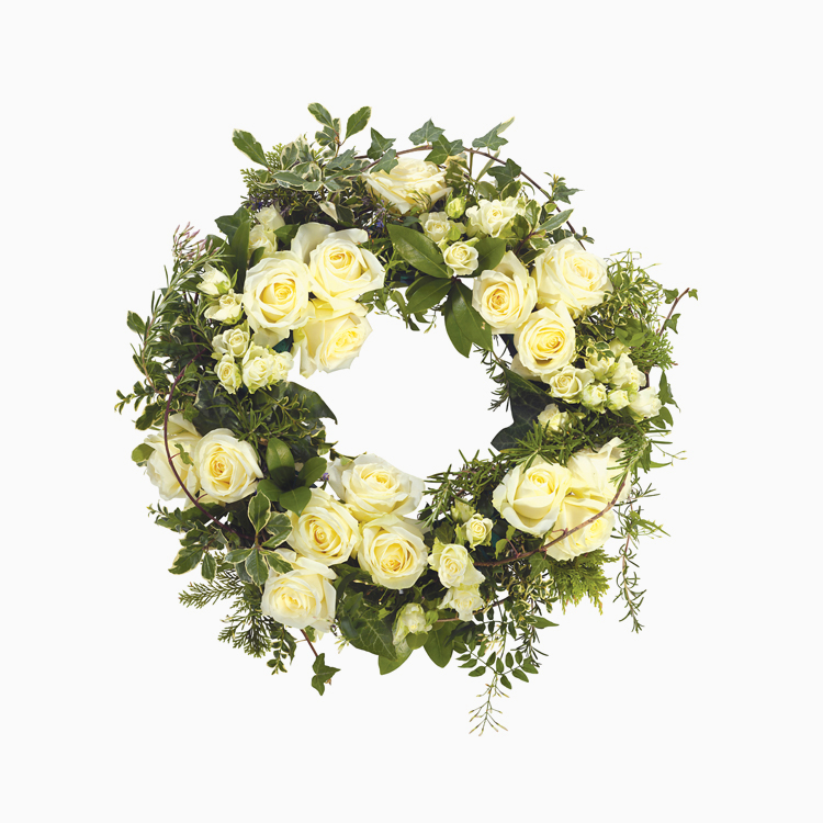 White Wreath for Wreaths