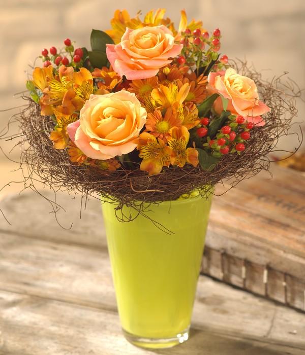 Golden Glow Flower Bunch