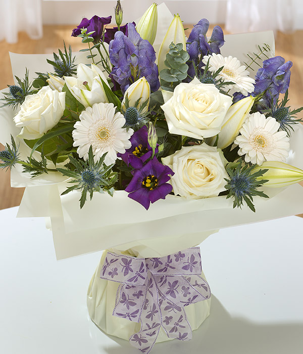 Sapphire Flower Bunch